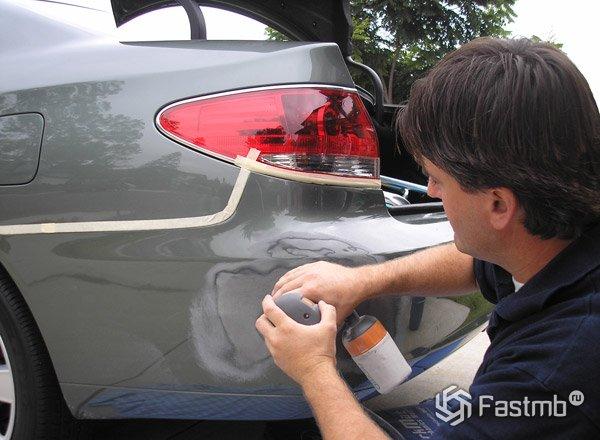 Car Door Scratch Dent And Repaint Cost