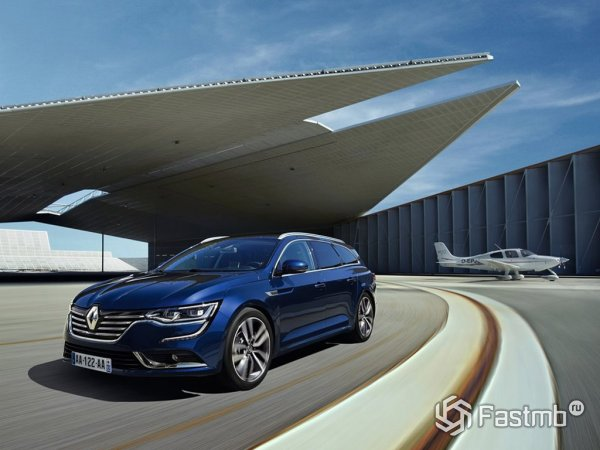 Новый Renault Talisman Estate