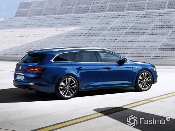 Renault Talisman Estate вид сбоку