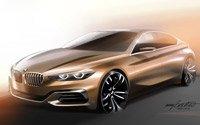 Концепт нового компактного седана от BMW