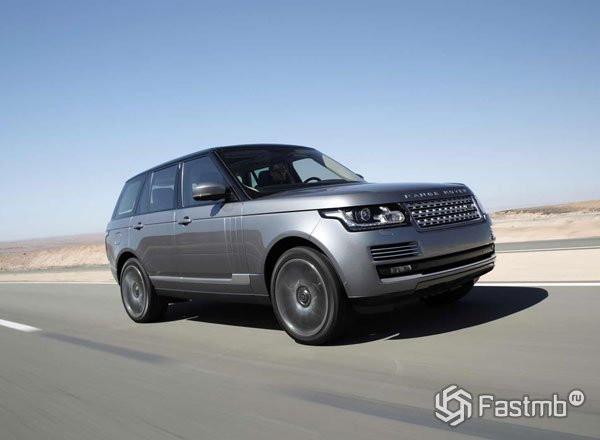 Range Rover Vogue, вид сбоку