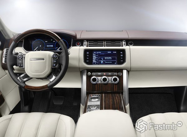 Передняя консоль Range Rover Vogue