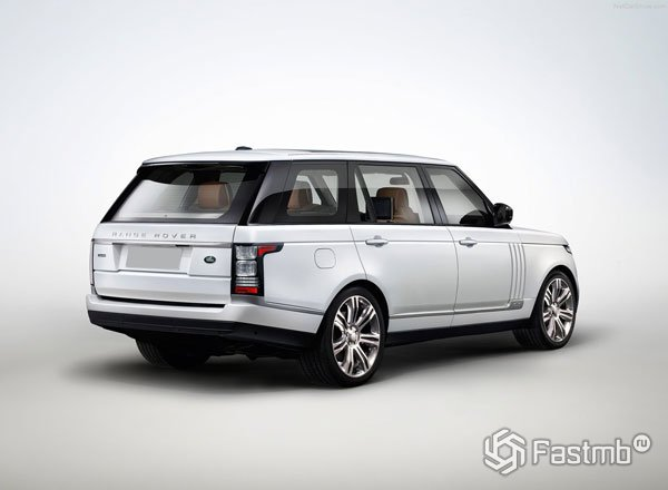 Range Rover Vogue, вид сзади
