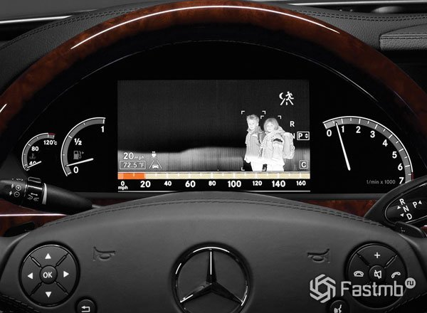 Система Night View Assist Plus от Mercedes-Benz