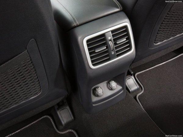Подача воздуха для задних сидений