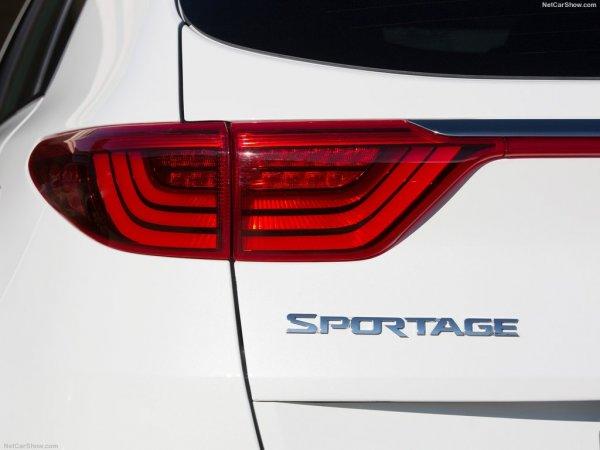 Задние фонари льда Kia Sportage 2016