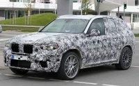 Шпионские фото нового BMW X3 M
