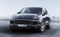 «Платиновый» Porsche Cayenne для России