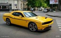 На Украине замечен эксклюзивный Dodge Challenger