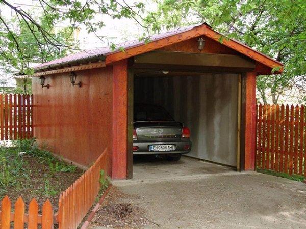 Как сделать гараж в частном доме