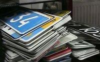 МВД снимет монополию на номерные знаки