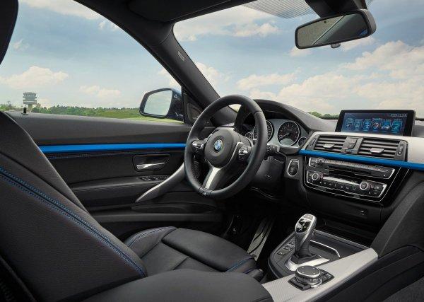 Интерьер BMW 3 GT 2017