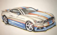 Новинка Ford Mustang GT King 2017 от Ричарда Петти