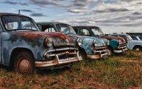 Регионы РФ с самыми старыми автомобилями