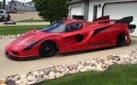 Житель Канады создал Ferrari с реактивными двигателями