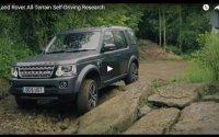 В Land Rover будут делать беспилотные внедорожники (видео)