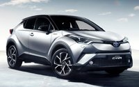 Обзор нового кроссовера Toyota C-HR 2017