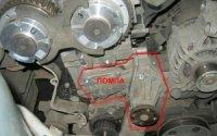 Замена помпы на Форд Фокус 2