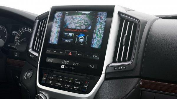 Мультимедийная система Toyota Land Cruiser 2017