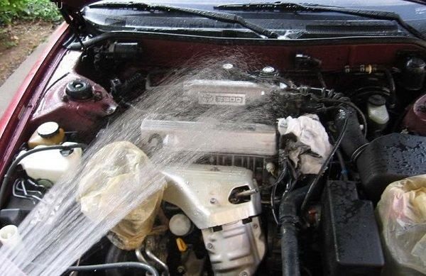 Чистота под капотом. Когда необходимо мыть двигатель? | Обслуживание | Авто | Аргументы и Факты