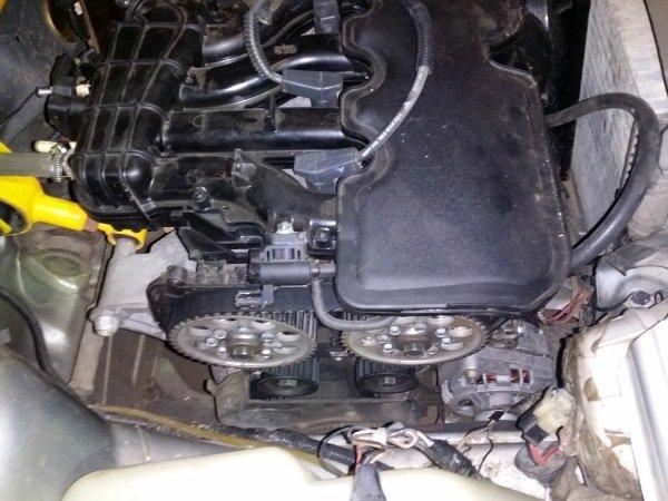 Двигатель Приора 16 клапанов