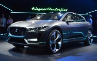 Прототип электрического кроссовера Jaguar I-Pace