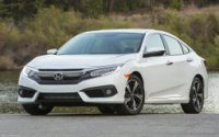 Honda Civic 2017 - лифт по вертикали