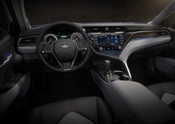 Передняя панель Toyota Camry 2018