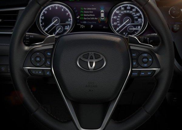 Панель приборов Toyota Camry 2018