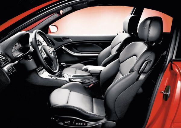 Передние сиденья BMW M3 E46