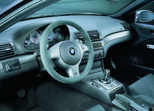 Интерьер BMW M3 E46 CSL 2003