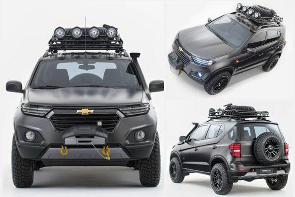 Новый Chevrolet Niva 2018 с разных ракурсов
