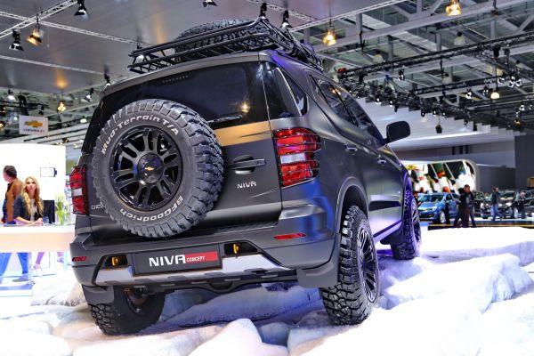 Новый Chevrolet Niva 2018