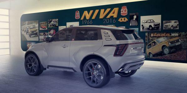 Прототип новой генерации Lada Niva 2018