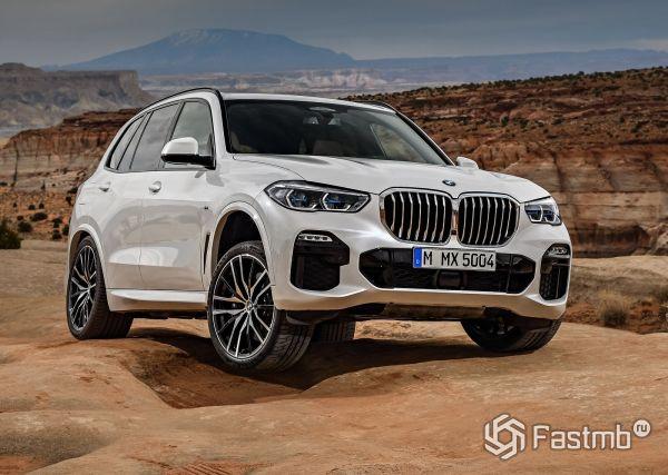 Новый кроссовер BMW X5 2019