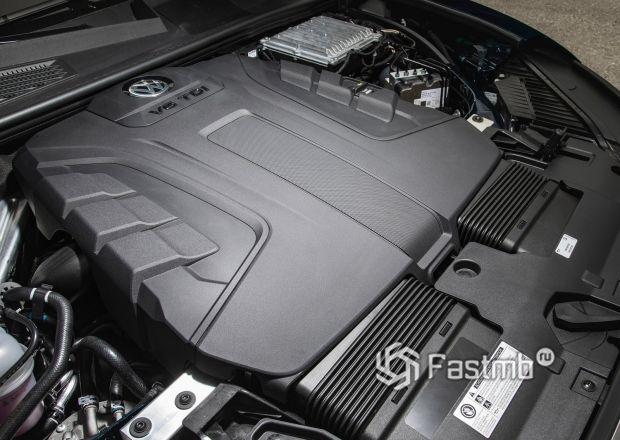 Дизельный двигатель V6 нового Volkswagen Touareg 2019