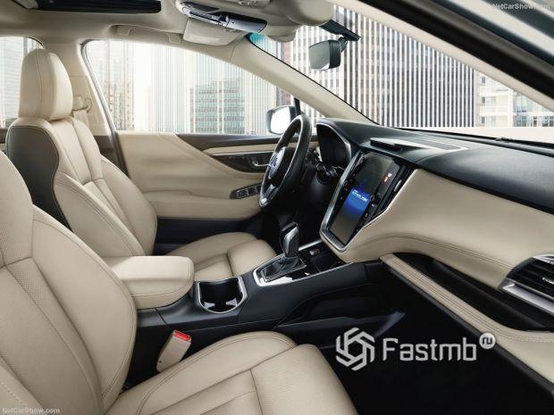 Subaru Legacy 2020, передние сидения