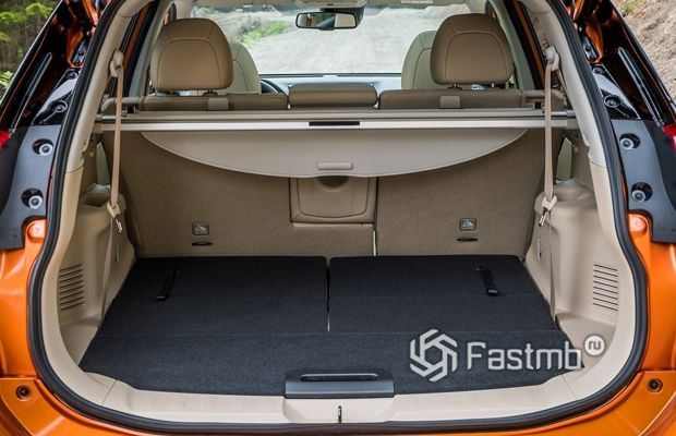 Багажник Nissan X-Trail 2018