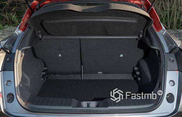 Багажник Nissan Juke 2019