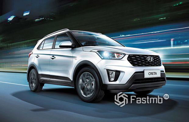 Hyundai Creta 2020, вид спереди