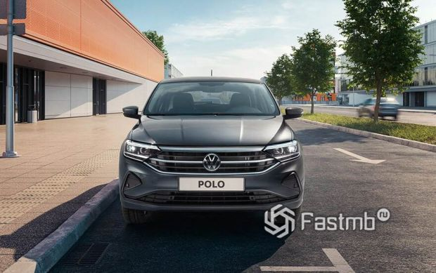 Volkswagen Polo 2020, вид спереди