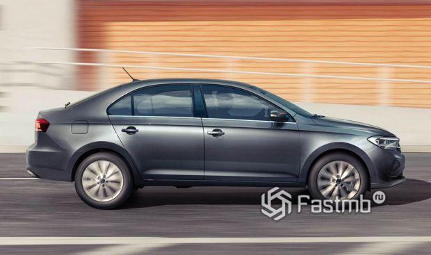 Volkswagen Polo 2020, вид сбоку