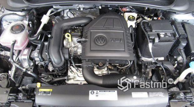Volkswagen Polo 2020, турбированный двигатель
