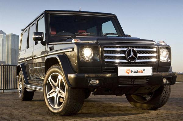 Кроссовер Mini-Gelandewagen – от Mercedes-Benz