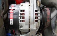 Снятие генератора, замена шкива и обратная установка