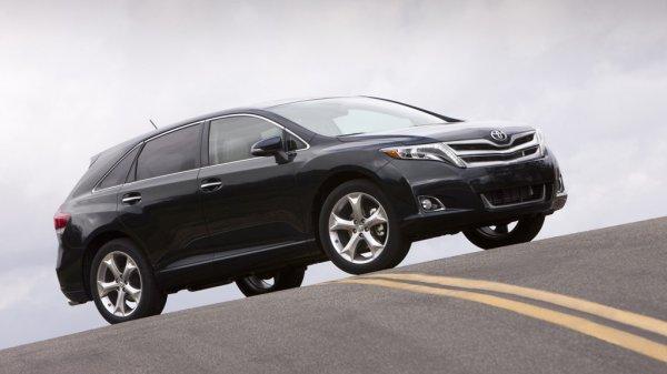 Дорожный просвет Toyota Venza 2013