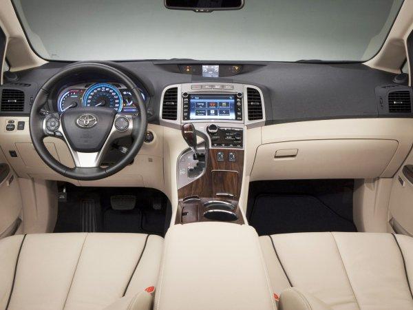 Передняя панель Toyota Venza 2013