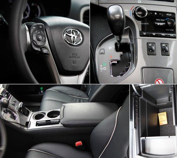 Отделка автомобиля Toyota Venza 2013