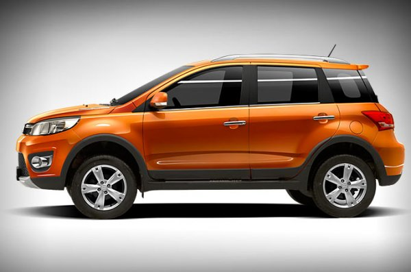 Great Wall Haval M4 - размеры