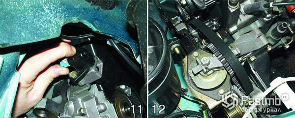 Замена прокладки двигателя шаг 11-12